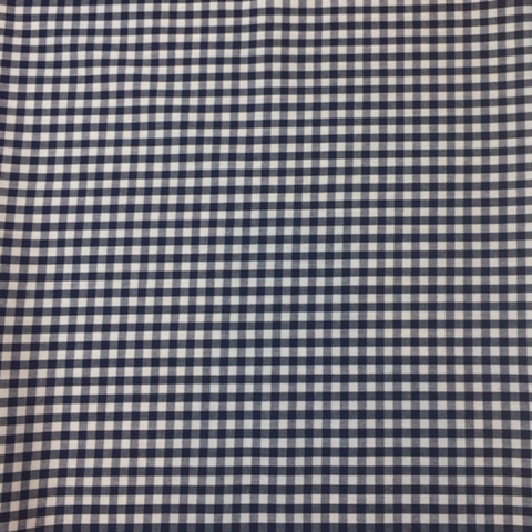 Kiyohara Cotton Yarn Dyed Woven Gingham Navy