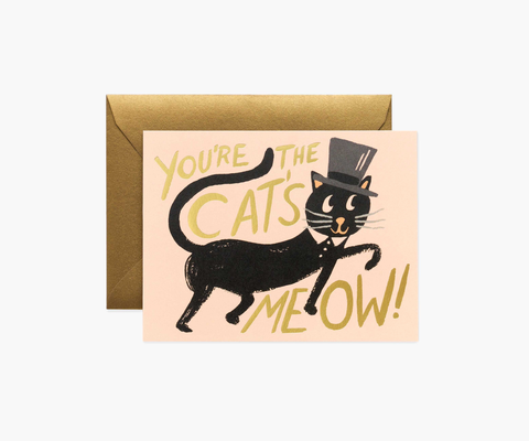 Rifle Paper Co. Cat's Meow Card