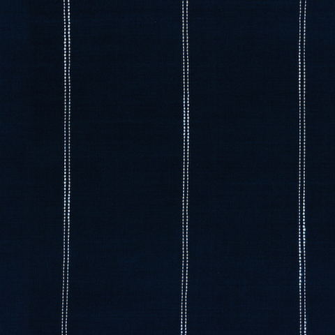Picnic Point Tea Striped Toweling by Pieces to Treasure Navy