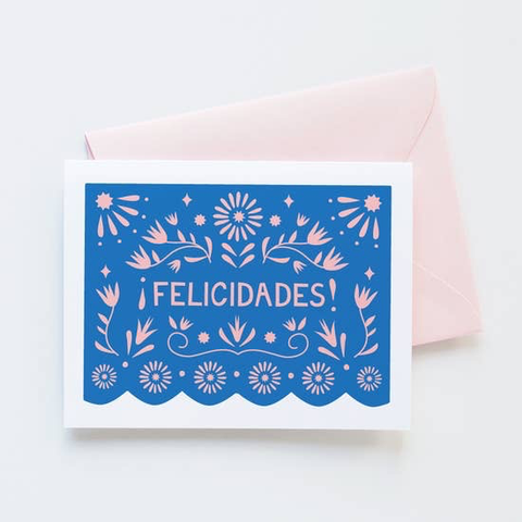 Graphic Anthology Papel Picado Felicidades Card