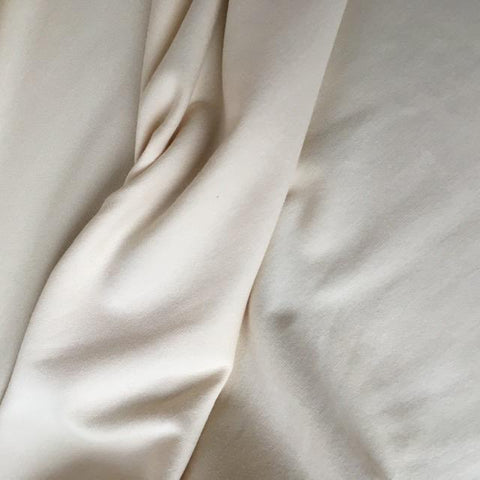 Bamboo Cotton Stretch French Terry Natural 60""