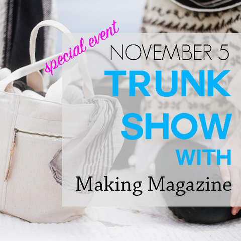 Special Event: A Trunk Show with Making Magazine Issue 6 B&W - Monday, November 5 5 to 7 p.m.