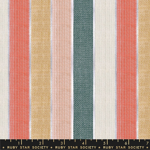 Alexia Abegg for Ruby Star Society Warp & Weft Candelight Wovens Jubilee Holiday Stripe