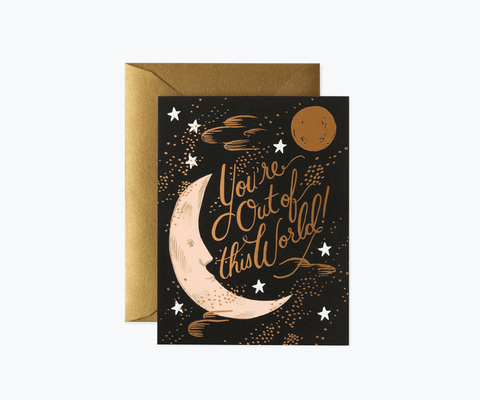 Rifle Paper Co. You're Out of This World Card