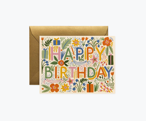 Rifle Paper Co. Fiesta Birthday Card