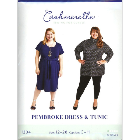 Pembroke Dress + Tunic Sewing Pattern by Cashmerette