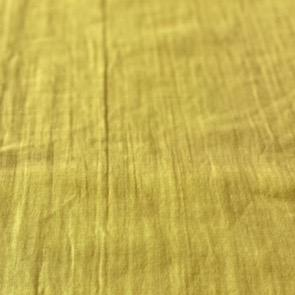 Kokka Cotton Double Gauze Triple Wash Ground Mustard 44""