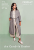 Friday Pattern Company Cambria Duster Clothing Pattern