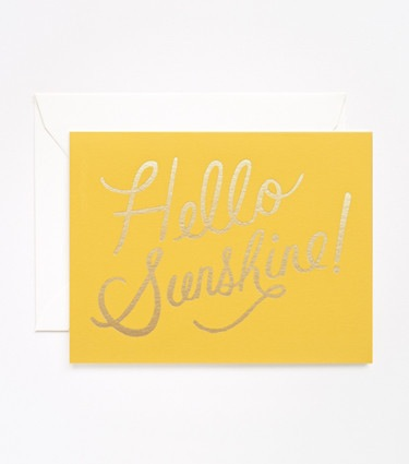 Rifle Paper Co. Hello Sunshine! Card