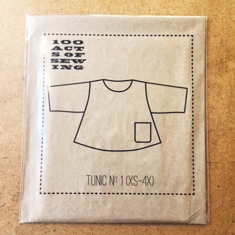 Tunic No. 1 by 100 Acts of Sewing (XS to 4X)