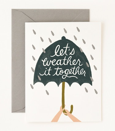 Rifle Paper Co. Weather It Together Card