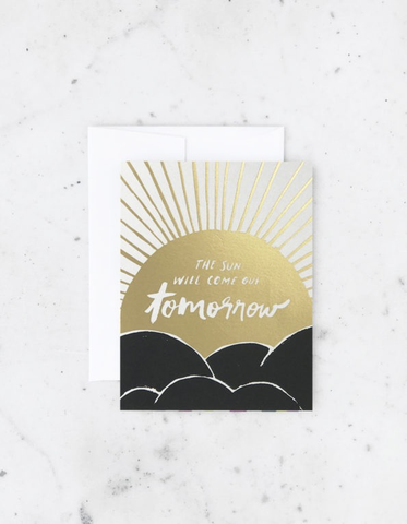 Idlewild Co. Sun Will Come Out Tomorrow Card