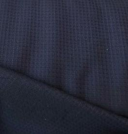 Wool Suiting Navy and Black 60""