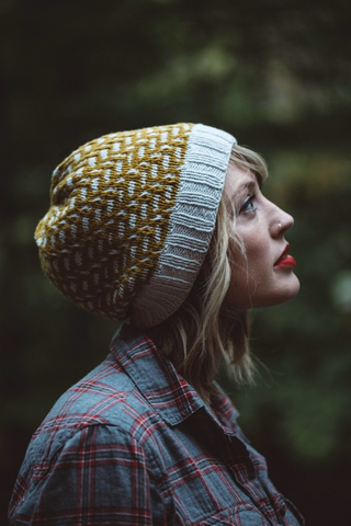 Tincture Hat Knitting Pattern by Drea Renee Knits