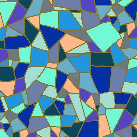 Mosiac by Shannon Brinkley Mosaic Tile Winter