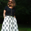 Sew Liberated Gypsum Skirt Sewing Pattern