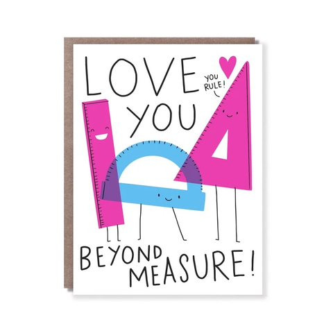 Hello Lucky Beyond Measure Card