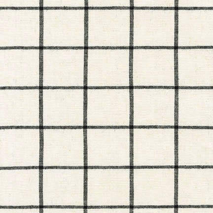 Essex Yarn-Dyed Classic Wovens Windowpane Ivory