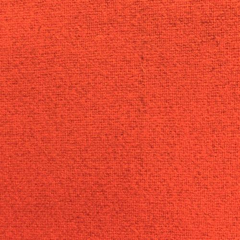 100% Wool Coating Bright Orange (Made in the USA) 55""