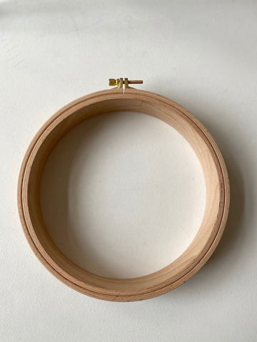 "Nurge Wooden Punch Needle Embroidery Hoop No. 4 (7.5"")"