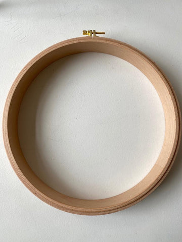 "Nurge Wooden Punch Needle Embroidery Hoop No. 6 (10"")"