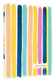 Plots & Plans: Organizational Planner and Notebook Bright Stripes