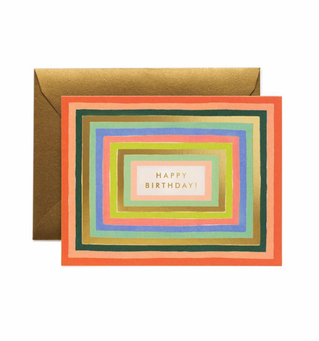 Rifle Paper Co. Disco Birthday Card