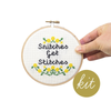 Junebug and Darlin Snitches Get Stitches Cross Stitch Kit