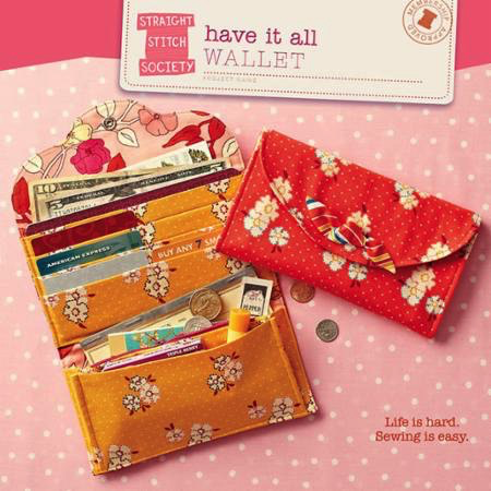 Have It All Wallet Sewing Pattern by Liesl Gibson