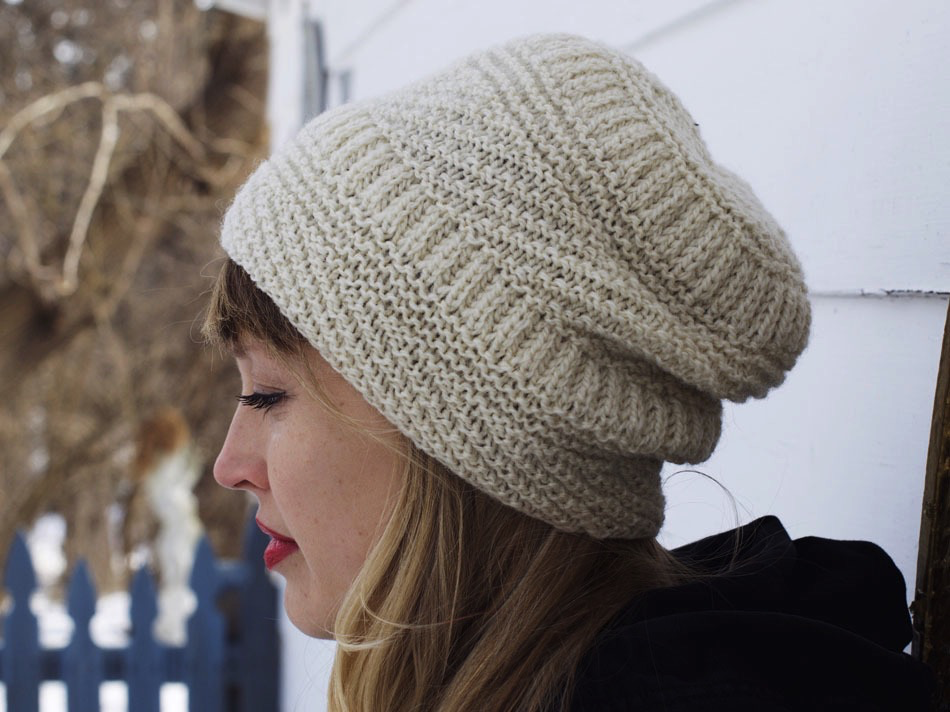 9d623cb19 Snoqualmie Hat Knitting Pattern by Drea Renee Knits - Drygoods Design