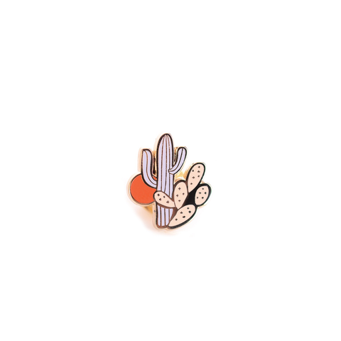 Antiquaria Design Studio Little Cactus Enamel Pin