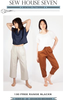 Free Range Slacks by Sew House Seven
