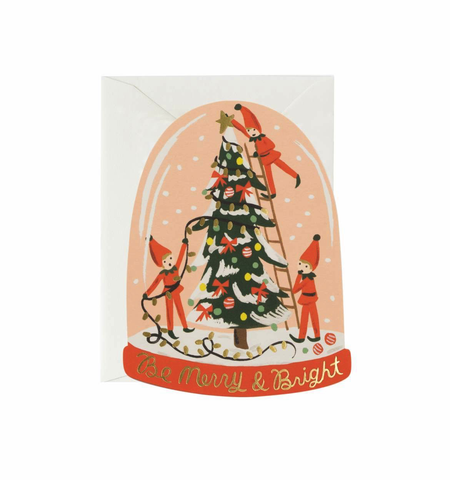 Rifle Paper Co. Merry Elves Card