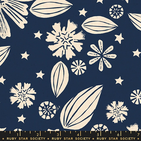 Ruby Star Society Golden Hour by Alexia Marcelle Abegg Zinnia Navy