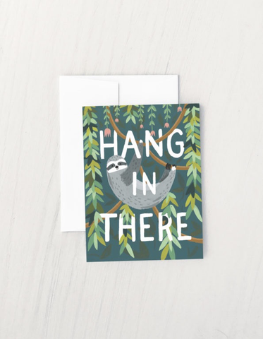 Idlewild Co. Hang In There Card