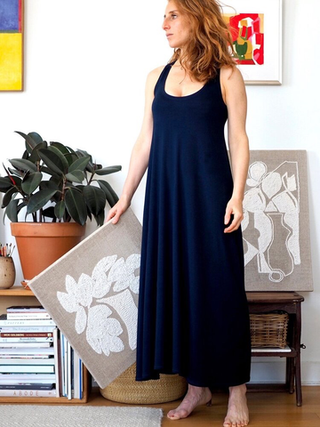 Rumi Tank and Dress Sewing Pattern by Christine Haynes