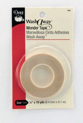 "Dritz Wash Away Wonder Tape 1/4"" x 10 yards"
