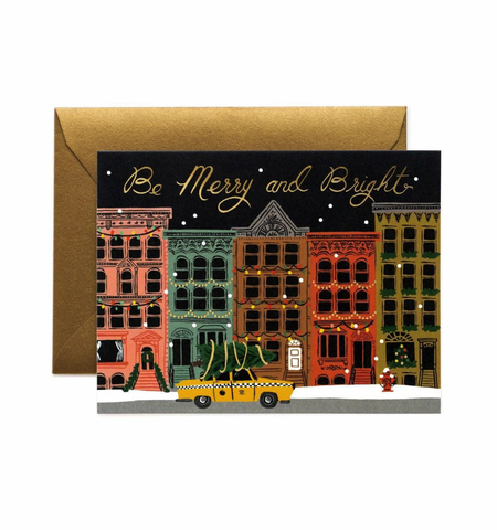 Rifle Paper Co. City Holiday Card (Boxed Set of 8)