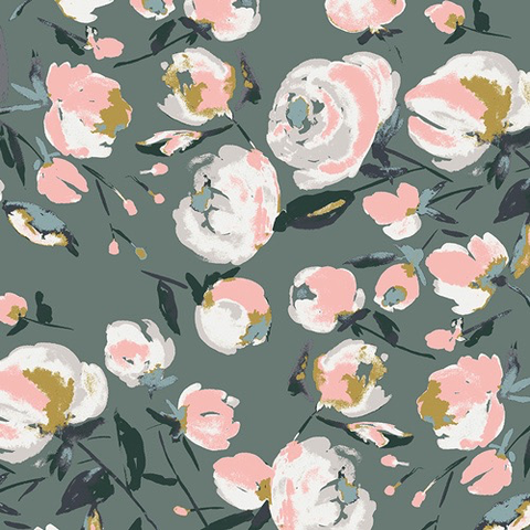 Rayon from Fusion Sparkler Collection for AGF Everlasting Blooms Gray 58""