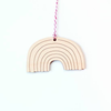 Graphic Anthology Rainbow Laser-Cut Ornament