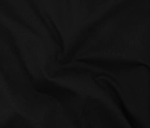 Rayon Blend Midweight Ponte All-Way Stretch Black 58""