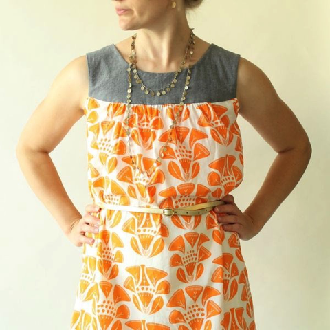 Made by Rae Ruby Dress Sewing Pattern