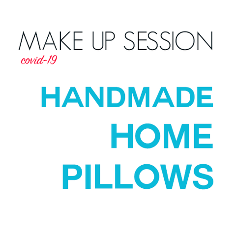 Handmade Home: PIllows (covid-caused reschedule)