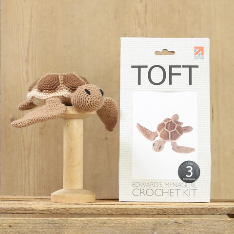 Toft Rebecca the Sea Turtle Crochet Kit Jumbo