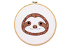 Kiriki Press Baby Sloth Hoop Art Kit