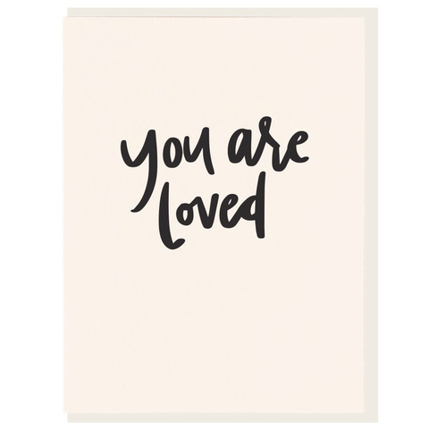 Dahlia Press You Are Loved Card