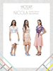 Victory Patterns Nicola Blouse/Dress Sewing Pattern