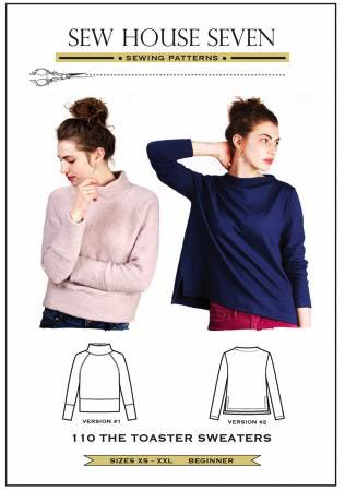 The Toaster Sweaters by Sew House Seven