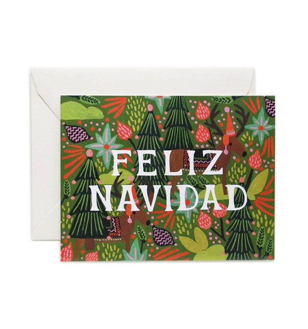 Rifle Paper Co. Feliz Navidad Holiday Card Boxed Set (8 ct)