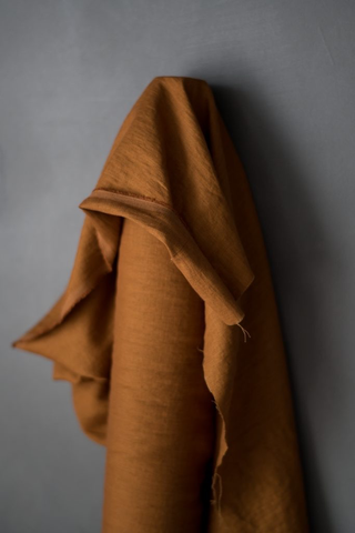 Merchant and Mills Linen Boston Fall (185 gsm) 56""